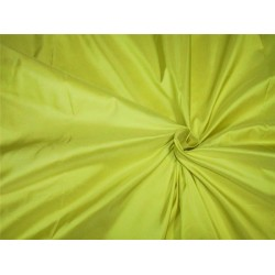 "100% Pure silk taffeta fabric lemon yellow  54"" wide*TAF#297[1]"