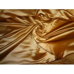 Sandalwood colour Silk Dutchess Satin fabric