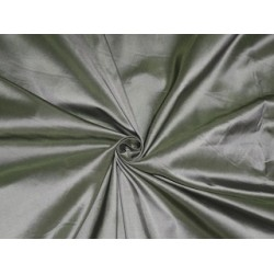 Silk Taffeta fabric~Teal Green x Ivory Color~54""