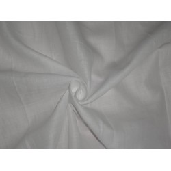 100 % Ivory WHITE PURE HEAVY LINEN FABRIC