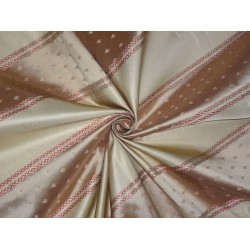 "Silk taffeta jacquard fabric 54"" wide-Damask fabric"