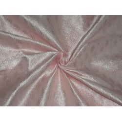 SPUN viscose BROCADE FABRIC Light Pink Color