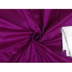 PURE SILK DUPIONI FABRIC PURPLE
