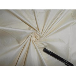 SPUN SILK SILK DUPIONI FABRIC CREAM COLOR 54""