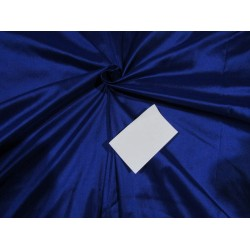 "100% pure silk dupioni fabric royal blue 54"" DUP269[1]"