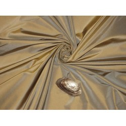 "100% pure silk dupioni fabric gold x blue 54"" DUP268[5]"