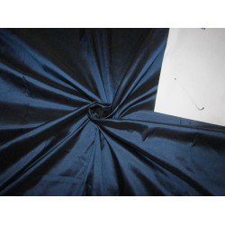 "100% PURE SILK DUPIONI  FABRIC 54""DEEP BLUE DUP282"