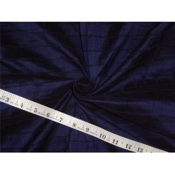 100% silk dupion bright navy blue pintuck 2.80ydsDUPP29[2]