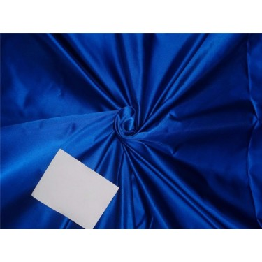 100% silk bright blue Heavy-Weight 48 MOMME Dutchess SATIN B2#30A[4]