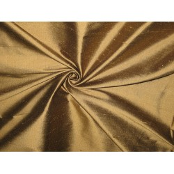 SILK Dupioni FABRIC Bronze with Black shot colour 54""