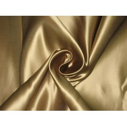 "66 MOMME SILK DUTCHESS SATIN FABRIC Gold 54""B2#82/MIXED#5"