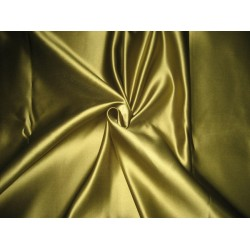 "66 MOMME SILK DUTCHESS SATIN FABRIC Dark Olive 54"" WIDE"