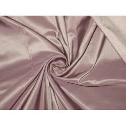 100% Pure SILK TAFFETA FABRIC Dusty Lavender 2.72 yards continuous piece 60""