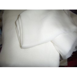 "16 mm Silk georgette 54"" wide~ light ivory"