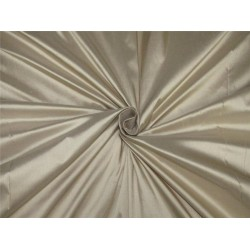 "100% pure silk dupioni fabric beige color 54"" DUP#D[2]"