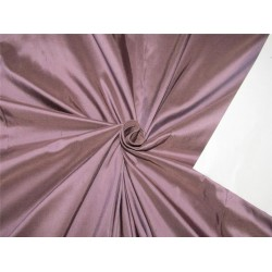 "100% pure silk dupioni fabric dusty  purple color 54"" DUP#C[1]"