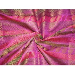 "shade of purple color brocade 44""wide Bro619[4]"