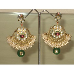 Imitation fashion earrings ~Pink,Clear,Green & Pearl