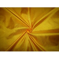 """Pure Silk Fabric, GSM: 50 Gram MARY ANN Bright Yellow 44""""by the yard"""