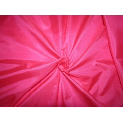 """Pure Silk Fabric, GSM: 50 Gram MARY ANN pink 44""""by the yard"""