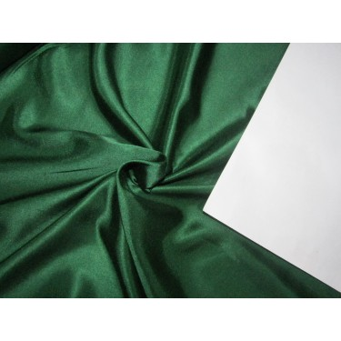 "Emerald Green viscose modal satin weave fabrics 44"" wide"