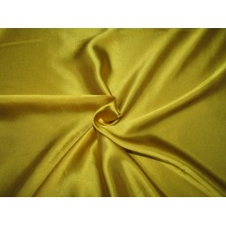 "Mustard Yellow  viscose modal satin weave fabrics 44"" wide"