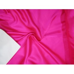"Hot Pink  viscose modal satin weave fabrics 44"" wide"