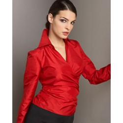 """RED "" HOT SILK TAFFETA fabric 54""TAF44[2]"