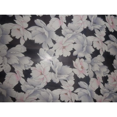 "Silk georgette 44"" wide~chic floral print"