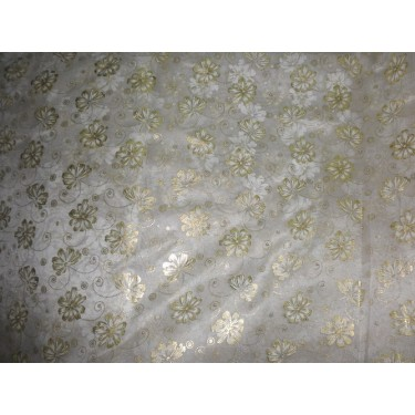 polyester tissue gold foil printed-stiff finish