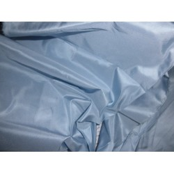"100% Pure SILK TAFFETA FABRIC ~baby blue 54""TAF37[1]"