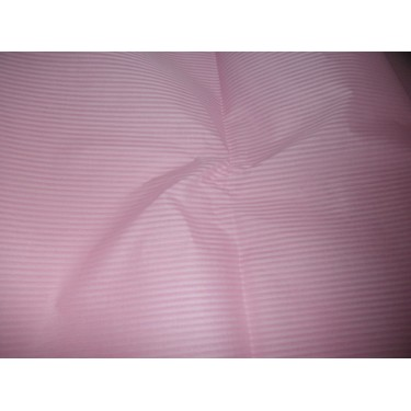 cotton organdy white{stiff}-2 mm dimitry stripes~pink