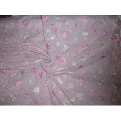 "LIGHT PINK COTTON VOILE 52""-EMBROIDERED"