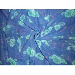 """Printed voile fabric 36""""x44"""""""