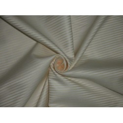 Cotton shirting fabric-twill with yellow stripes