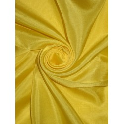 RICH Lime Yellow COLOUR PLAIN HABOTAI SILK 54""