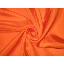 RICH Orange COLOUR PLAIN HABOTAI SILK 54""