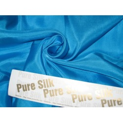 RICH Blue COLOUR PLAIN HABOTAI SILK 54""