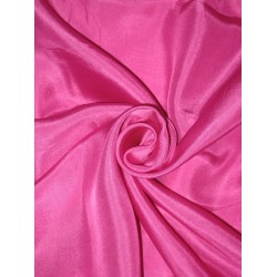RICH Fuscia Pink COLOUR PLAIN HABOTAI SILK 54""