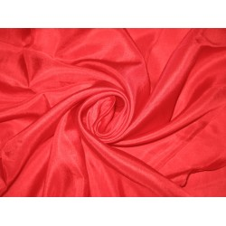 RICH Red COLOUR PLAIN HABOTAI SILK 44""