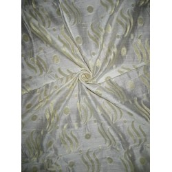 "COTTON SILK FABRIC 44""-SEMI SHEER"