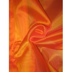 "Hot Orange SILK ORGANZA FABRIC 54"" WIDE"