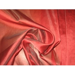 "BLOOD RED SILK ORGANZA FABRIC 44"" WIDE"