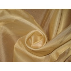"Light CHAMPAGNE SILK ORGANZA FABRIC 44"" WIDE"