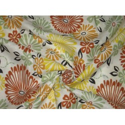 Printed Linen Fabric 58""