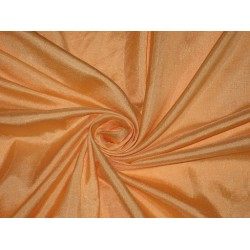 Mary Ann plain Viscose fabric Peach 44""