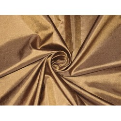 Mary Ann plain silk fabric Dark Brown silk 44""