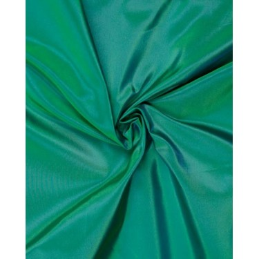 "100% silk awesome green tafetta 46 mm / 180 grams 54"" wide sold by the yard"