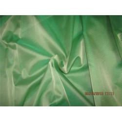 Silk Organza fabric iridescent green color 54'' wide pkt #28[4]