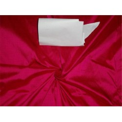 PURE SILK DUPIONI DUSTY FUCHSIA PINK